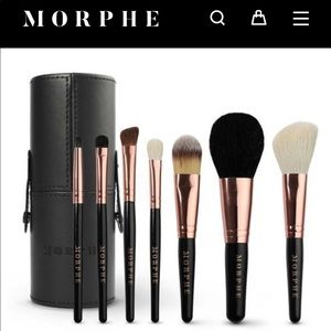 Morphe Rose 7-piece Brush Set
